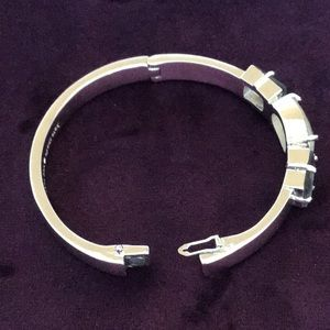 kate spade Jewelry - Never Worn!  kate spade three stone hinged bangle